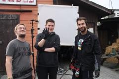 My lovely team of electricians (Johnny Unsaddled 2014)